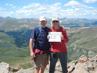 Mount Bierstadt Summit - 14,065 Ft. - Our First 14er!